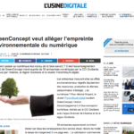 Image : GreenConcept veut alléger l'empreinte environnementale du numérique